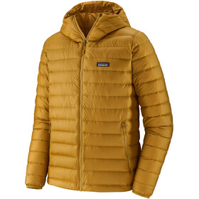 Patagonia Down Sweater Hoodie Herre buckwheat gold